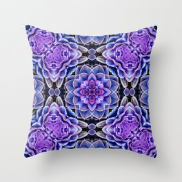 Echeveria Bliss Two Throw Pillow