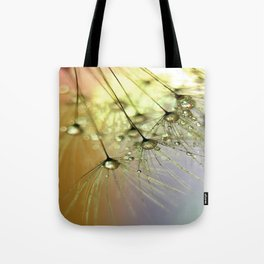 Dandelion & Droplets Tote Bag