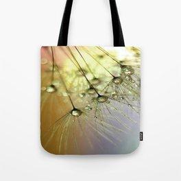 Dandelion & Droplets Tote Bag