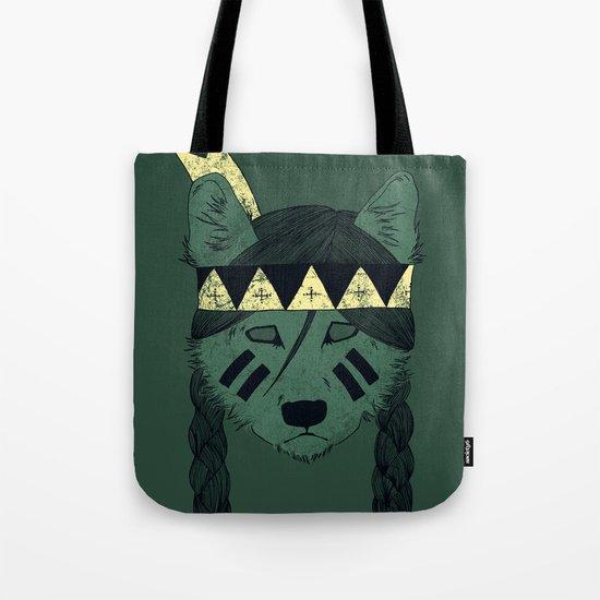 Green Skin Tote Bag