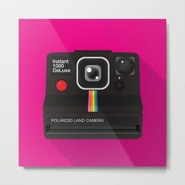 Polaroid Instant 1000 deluxe Metal Print