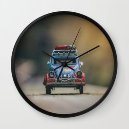 Little cars, Big Planet (Nature) Wall Clock