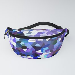 Ultraviolet Mountains Moon Love Fanny Pack