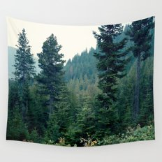 Midnight Blues Wall Tapestry