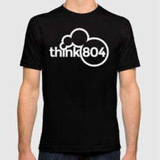think804 LARGE Mens Fitted Tee Black