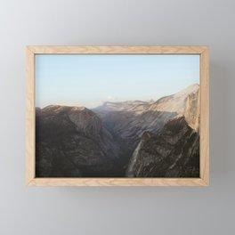 Half/North Framed Mini Art Print