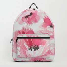Pink Poppies Backpack