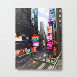 Just An Apple Metal Print