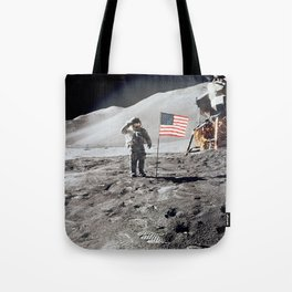 Apollo 15 - Military Salute Tote Bag