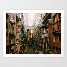 Bookstore Art Print