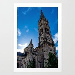Stuttgart : Matthäuskirche Art Print