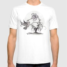 The Kiss Mens Fitted Tee MEDIUM White