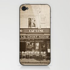 Le Chat Noir iPhone & iPod Skin