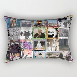 Suicideboys album covers Rectangular Pillow
