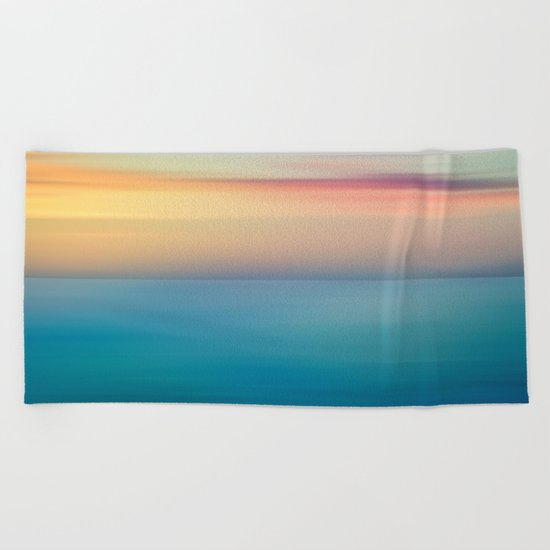 Abstract Seascape Beach Towel