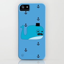MR. MELVILLE iPhone Case