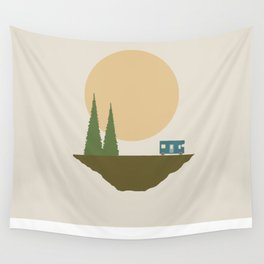 Sunny Day for Camping Wall Tapestry