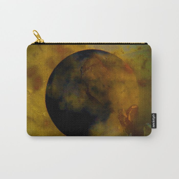 Abstract Moon Carry-All Pouch