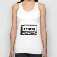 cassette Tank Tops featuring cassette by Gabriel