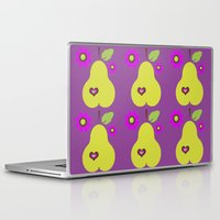 pear Laptop & iPad Skins featuring pear by snorkdesign