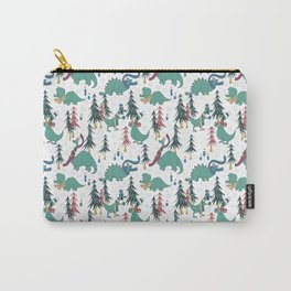 Dinosaur Hygge Carry-All Pouch