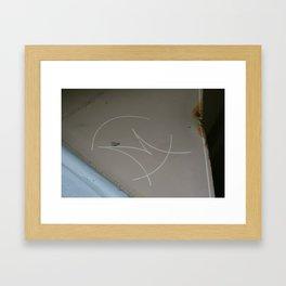 Back Then Framed Art Print