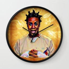 Crazy Eyes Wall Clock