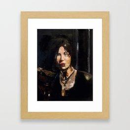 RTR Lara Croft Framed Art Print