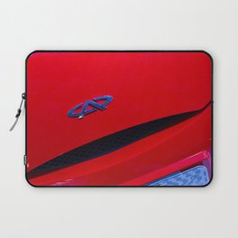 Chery QQ Electric Front Red Laptop Sleeve