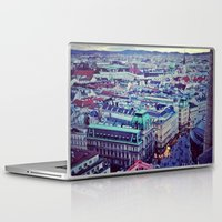 vienna Laptop & iPad Skins featuring Vienna by SandraHuezo