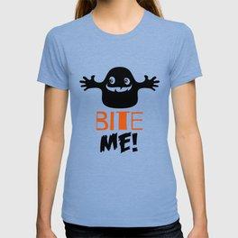 Halloween T-shirt / Bite me T-shirt