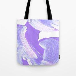Shades of Purple Brush Stroke pattern #abstractart Tote Bag