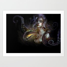 Unfortunate souls - Ursula octopus Art Print