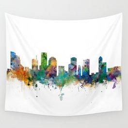 Houston Skyline Wall Tapestry