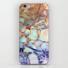 marble effect 007 (blue) iPhone & iPod Skin