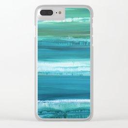 BLUE BAYOU Clear iPhone Case