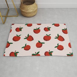 Red Apples Rug