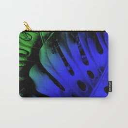 Blue Swiss Cheese Carry-All Pouch