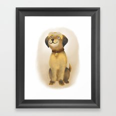 Charlie Dog Framed Art Print