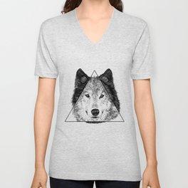 Trinity Wolf Unisex V-Neck