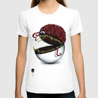 pokeball T-shirts featuring Evil pokeball  by Capadochio