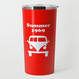 Summer 1969 - red Travel Mug