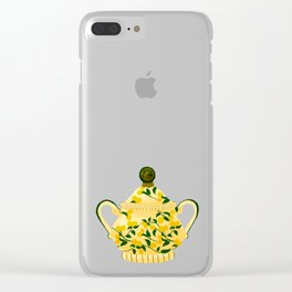 Vessel For Disaccharides Clear iPhone Case