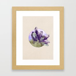 Amethyst - Into the Woods Framed Art Print