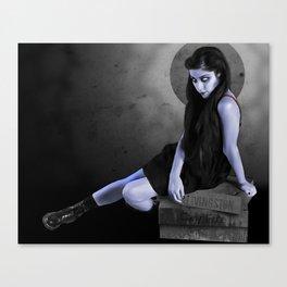 MeZ Zombie Canvas Print