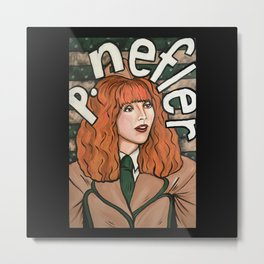 Phyllis Nefler Metal Print