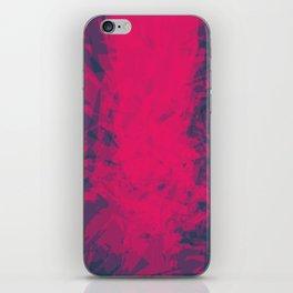 Shattered Purple iPhone Skin