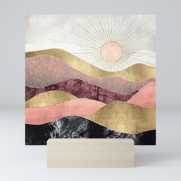 Blush Sun Mini Art Print