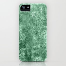 Grayed Jade Oil Painting Color Accent iPhone Case