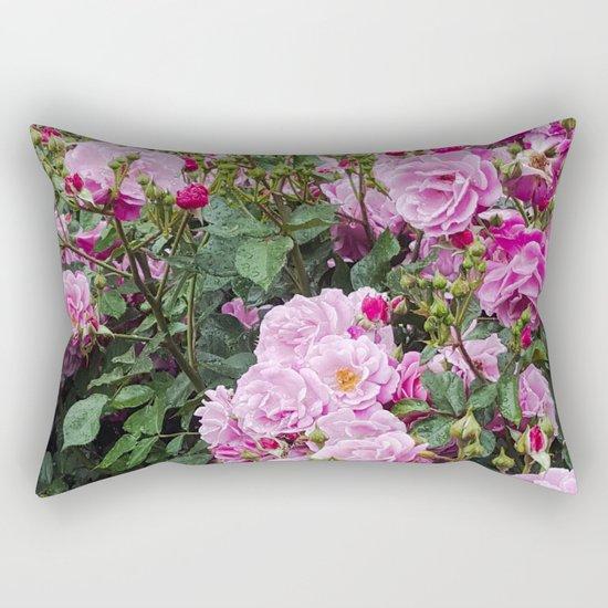 Beauties of the Garden Rectangular Pillow